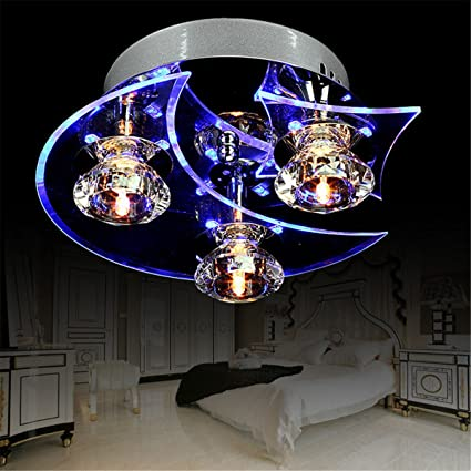 Amazoncom Yiping Brand New And Ceiling LED LightMoon Star Lights - Star lights for bedroom ceiling