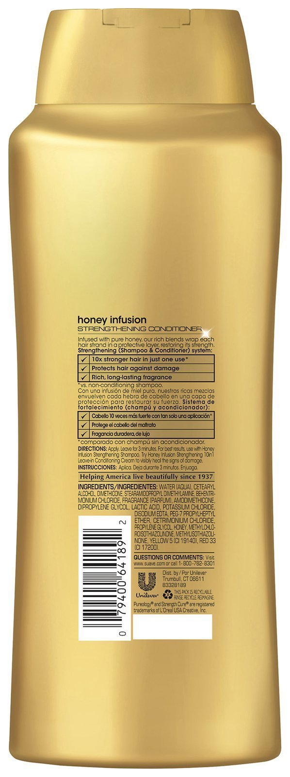 Suave Professionals Strengthening Conditioner Honey Infusion, 28 Ounce by Suave (Image #2)