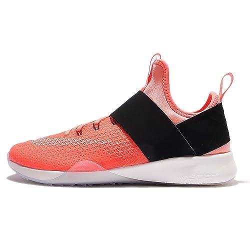 último estilo nuevo producto recogido Nike 843975-800, Zapatillas de Deporte para Mujer, Naranja ...