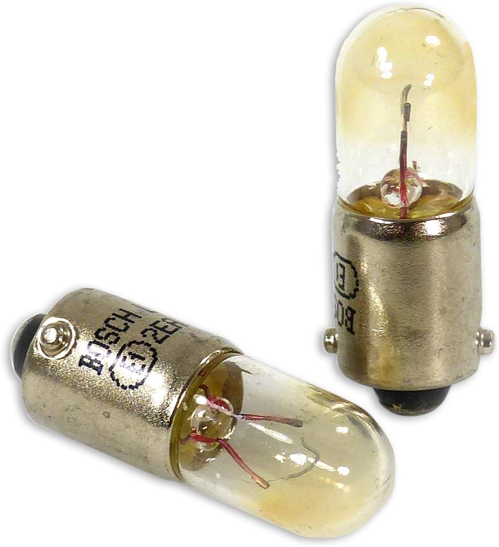 Lámparas Bosch para vehículos Pure Light T4W 12V 4W BA9s (Lámpara x2)