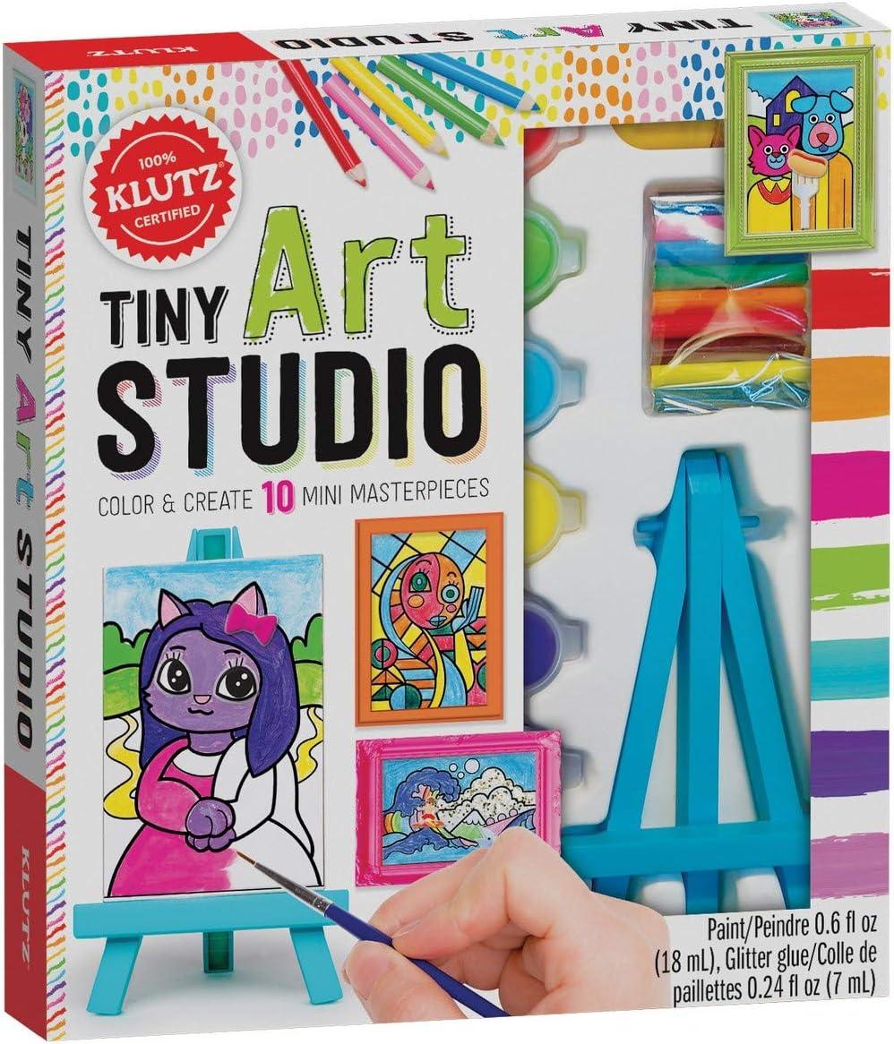 Klutz Tiny Art Studio Craft Kit