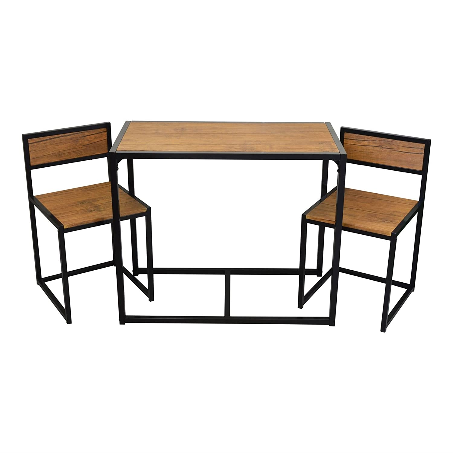 Harbour Housewares 2 Person Space Saving,pact, Kitchen Dining Table & Chairs  Set: Amazon: Kitchen & Home