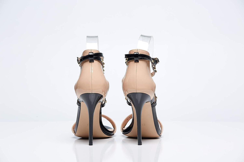 4be0973b01c8 Amazon.com  LIANA Beige Classy Leather