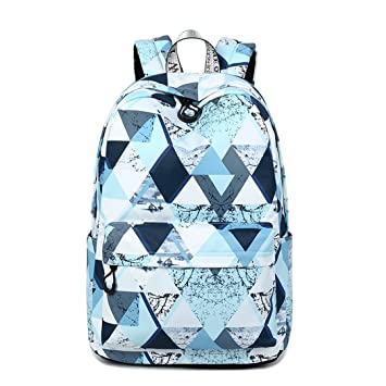Amazon.com   Shipe School Bookbags for Teens, Girls Laptop Bag Floral  Backpack College Bags young people Daypack (Lanscape)   Kids  Backpacks e7bbf1e92b