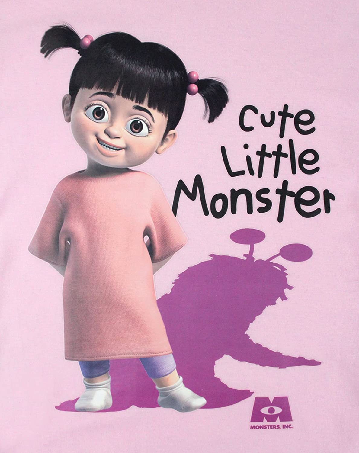 Uncategorized Monsters Inc Boo amazon com official monsters inc boo cute little monster girls t shirt clothing