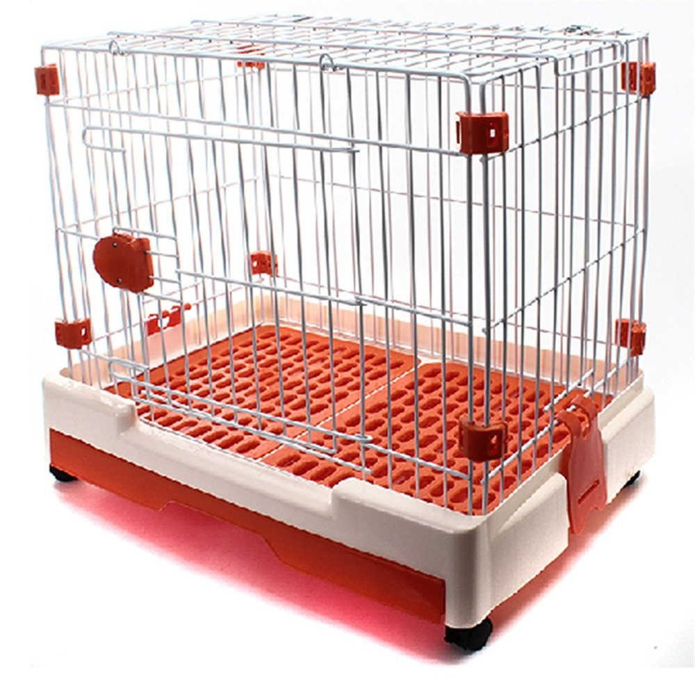 Hukangyu1231 Cama de Perro Mascota Pet Plegable Dog Cage Dog House Bold Wire Jaula VIP Ratio Bear Kennel Cat Cage Fence Wheeled.: Amazon.es: Hogar