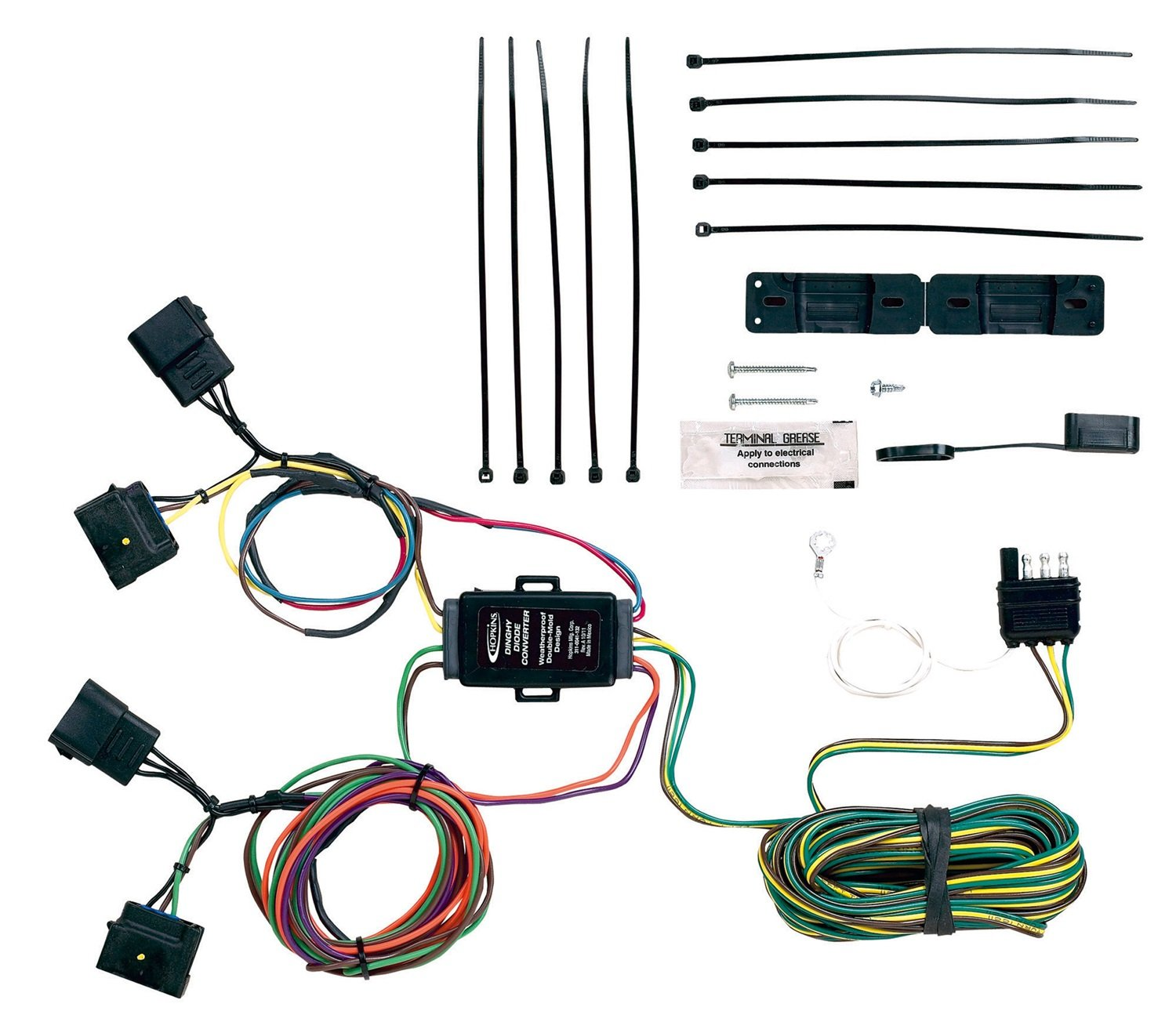 71CJVXzkO%2BL._SL1500_ amazon com hopkins 11156000 plug in simple towed vehicle wiring toad wiring harness at gsmportal.co