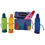 MerryMakers The Day the Crayons Quit Finger Puppet Playset, Set of 4, 5-Inch Each