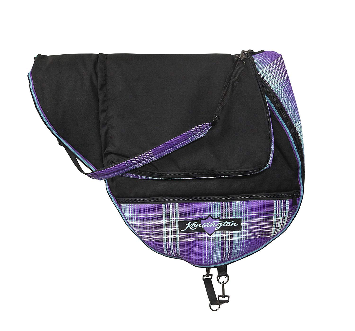 Kensington English Saddle Carry Bag Lavender Mint
