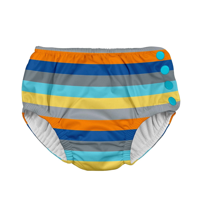 I Confezione pannolini da nuoto Bambino, 2-3 anni, colore: blu, Viking Geo) i play. 721