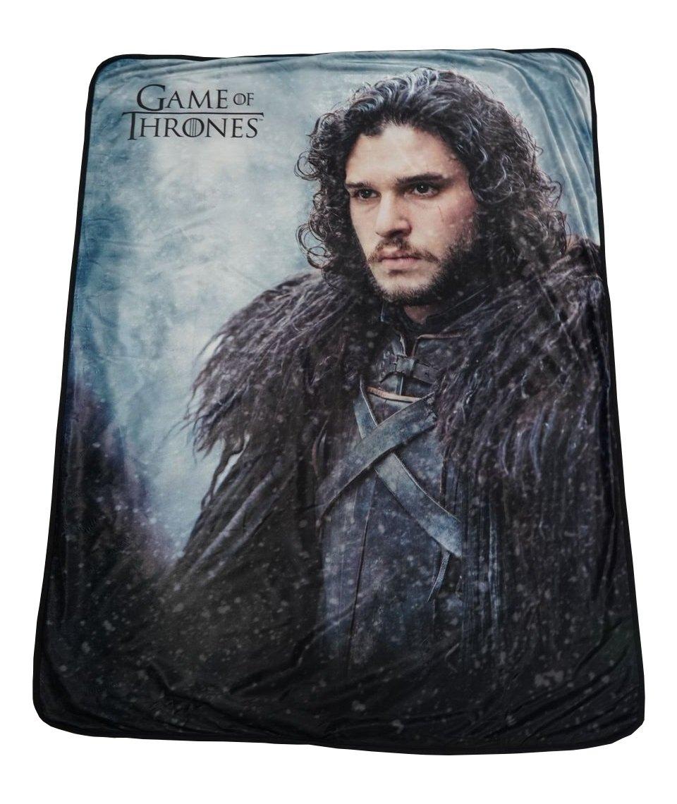 Rabbit Tanaka Game of Thrones Soft Fleece Throw Blanket 46'' x 60'' Featuring Jon Snow