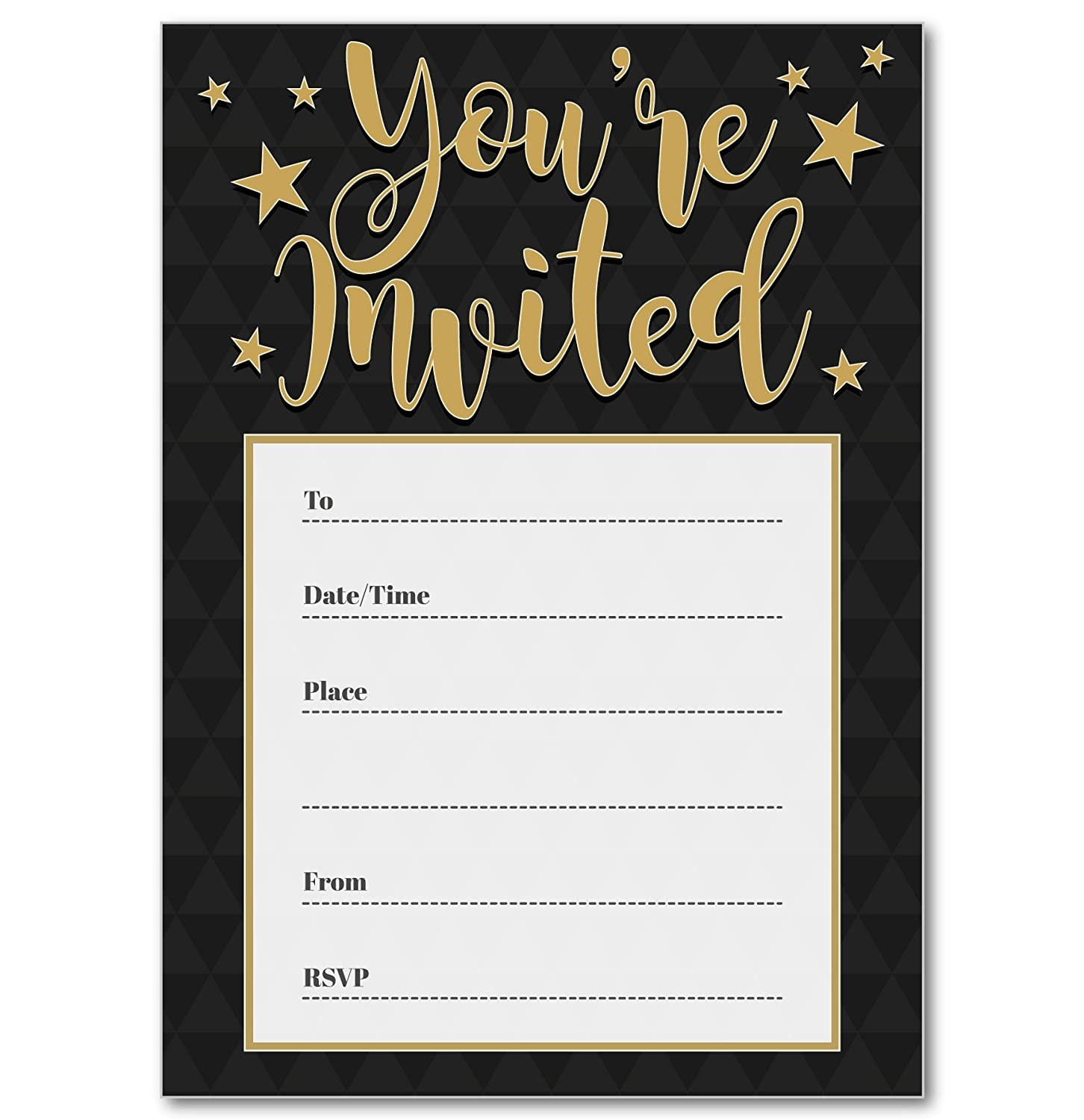 30 BIRTHDAY INVITATIONS Personalised for You. \'Vintage Postcard ...