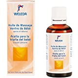 Weleda Huile Massage Ventre Bébé 50 ml