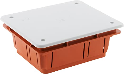 Caja de derivación para empotrar en obra, 118 x 96 x 50 cm: Amazon ...