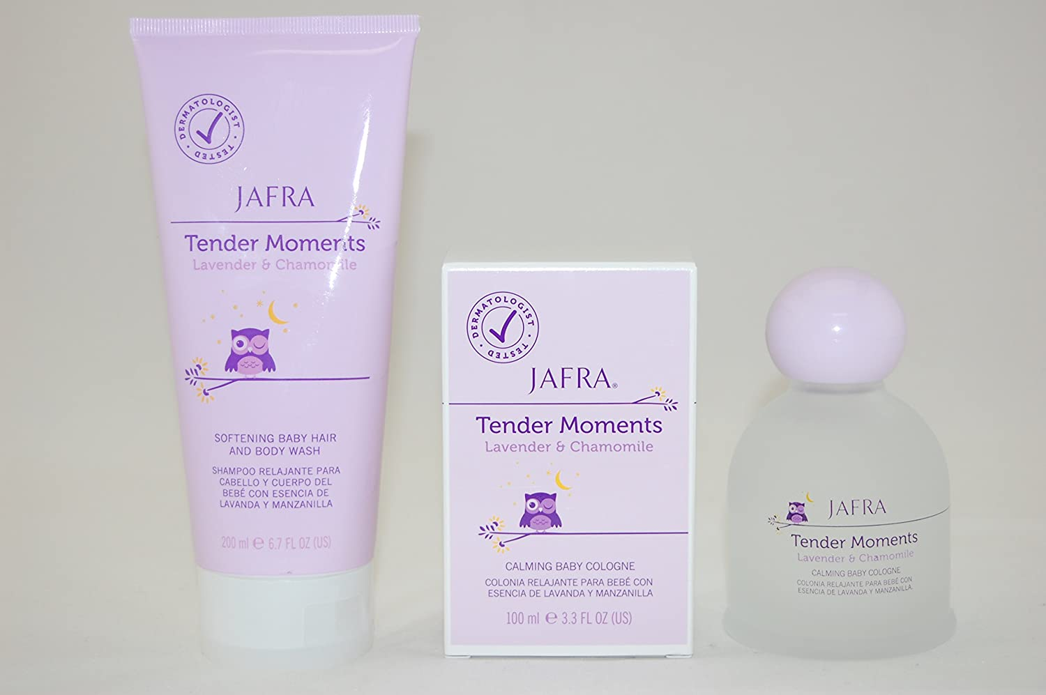 Jafra Tender Moments Lavender And Chamomile Set Beauty Spa