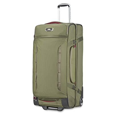 High Sierra AT8 Wheeled Upright Duffel Bag