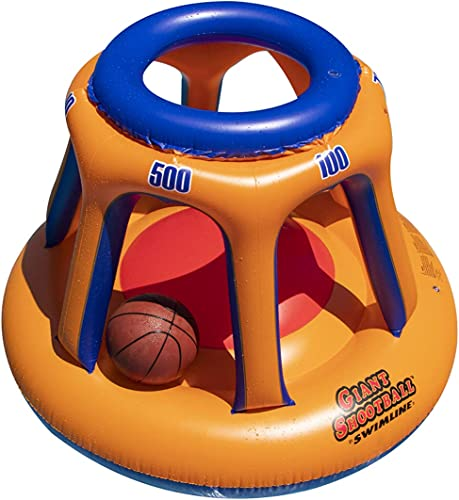 Swimline-90285-Giant-Shootball-Floating-Pool-Basketball-Game
