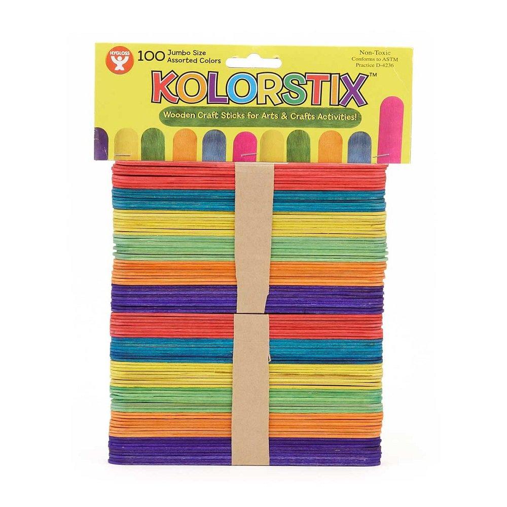 Inc Craft Sticks 4.5-Inch Hygloss Products