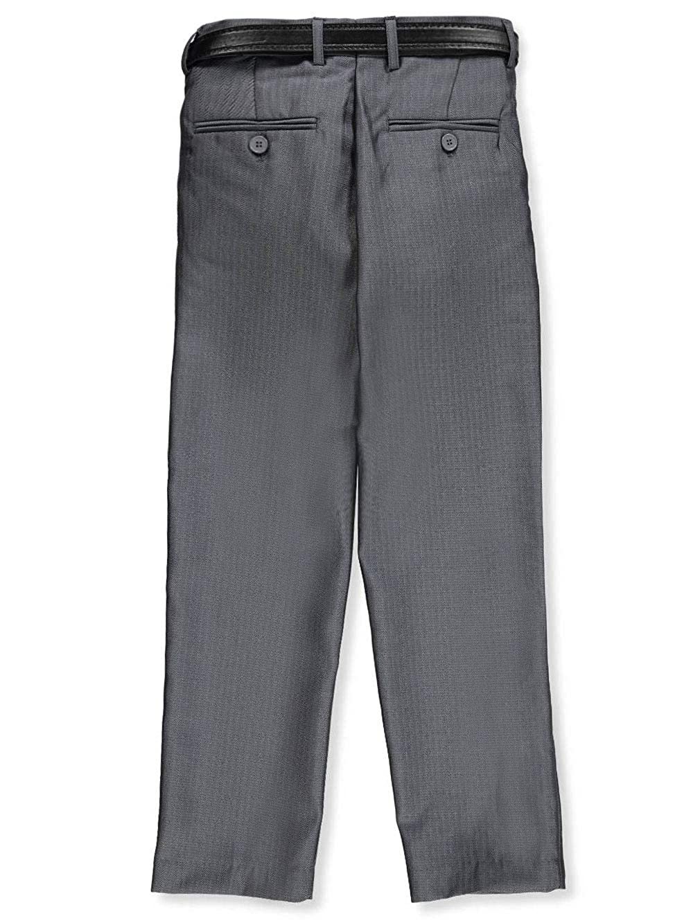 Alberto Danelli Boys Tailored Belted Flat Front Dress Pants