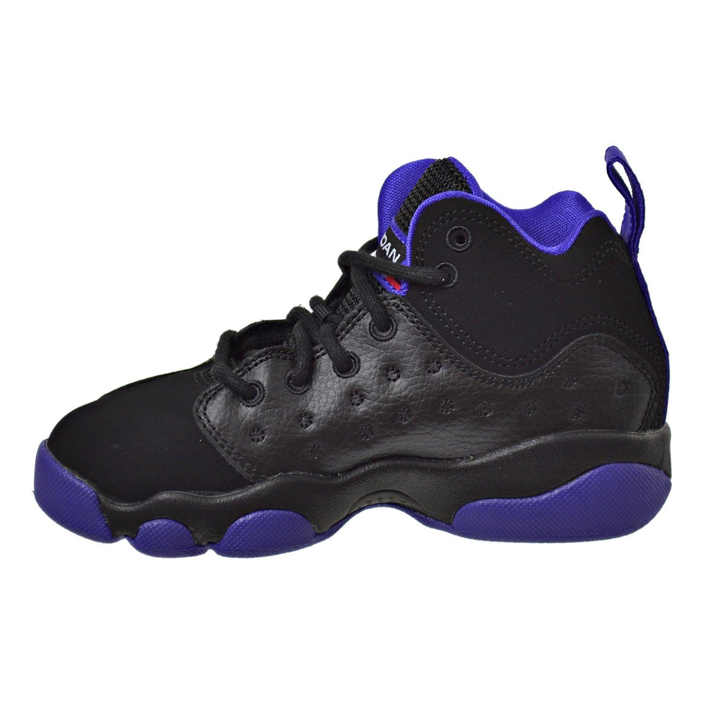 Amazon.com | Jordan Jumpman Team II GP Little Kid's Shoes Black/Ember  Glow/Purple 845202-017 | Basketball