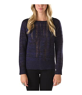 Amazon.com: Vans Women's Balboa Loose Knit Sweater-Navy: Clothing