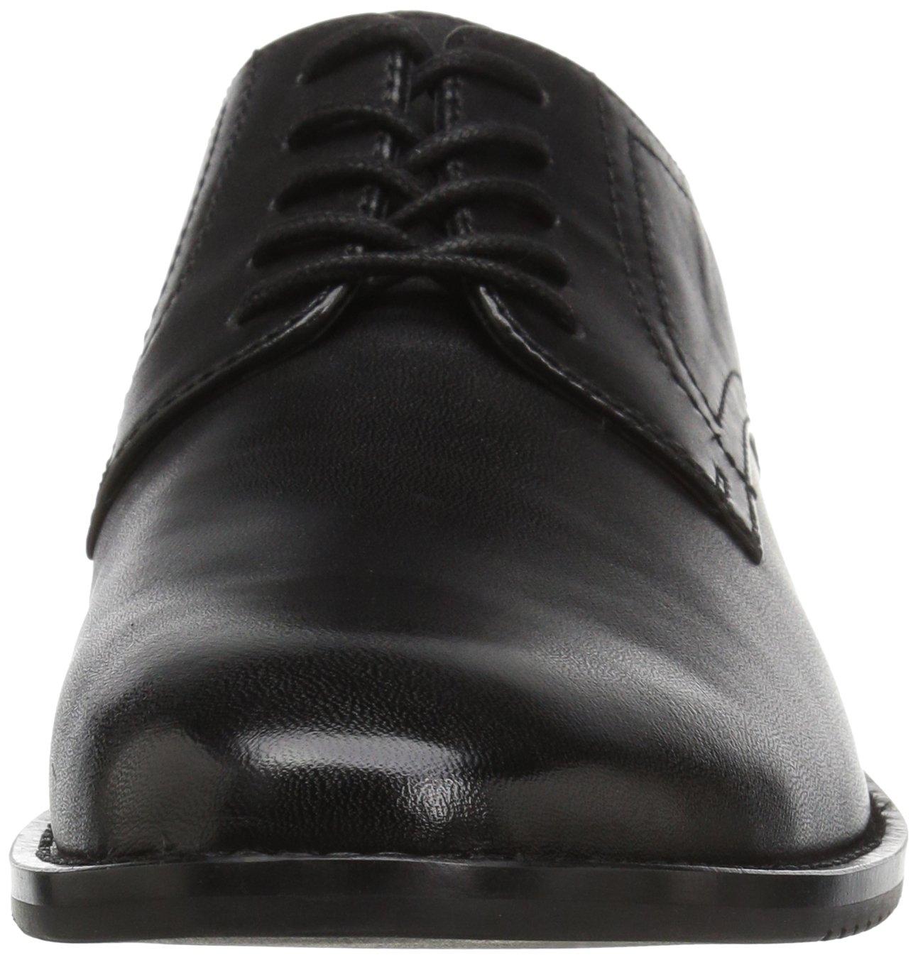 206 Collective Men's Concord Plain-Toe Oxford Shoe, Black, 13 2E US by 206 Collective (Image #4)