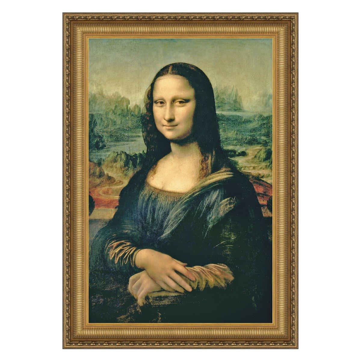 Design Toscano Mona Lisa, 1503-1506 Canvas Replica Painting: Medium
