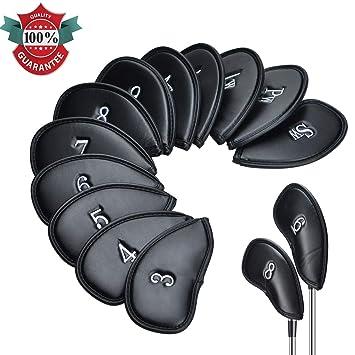 Lychee 12pcs/Set Golf Fundas de Palos de Cabeza de Hierro ...