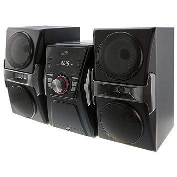 a46a24b854d Amazon.com  iLive IHB624B Bluetooth CD and Radio Home Music System ...