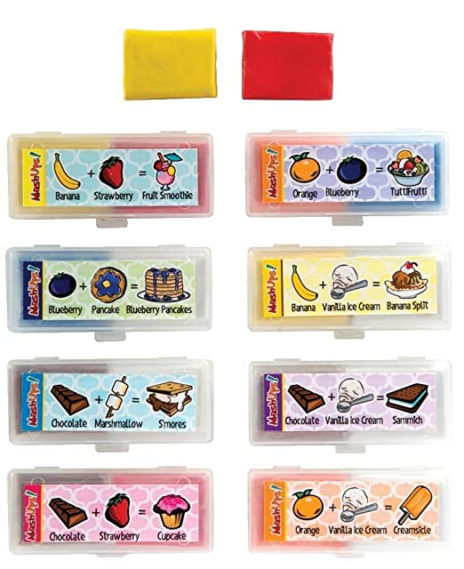 Mash Ups Scented Kneaded Putty Diy New Scent Erasers : 8pcs by Mash Ups