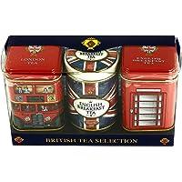 English Tea s in Mini Blikken, Heritage Collectie - 3 x 15-25g Verse Losse Thee (Best van Brits)