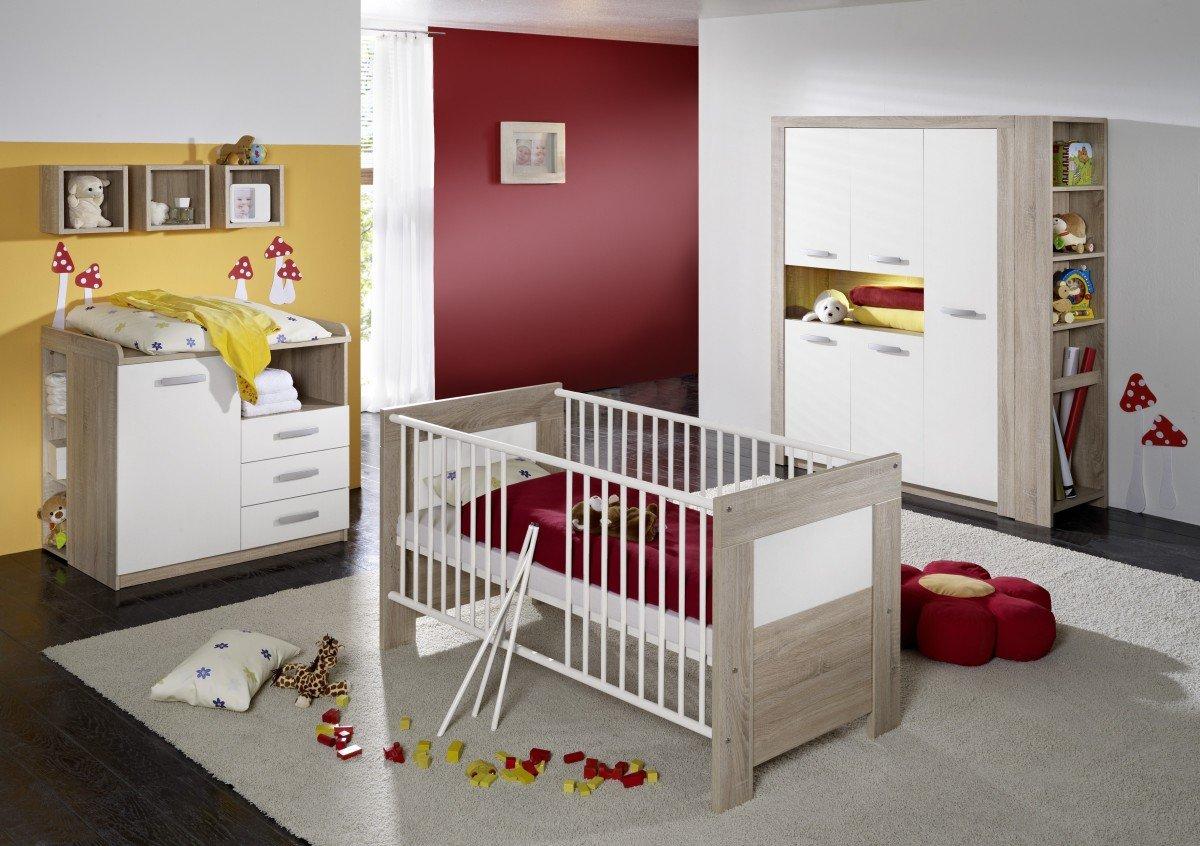 Dreams4Home Kleiderschrank \'Leo\', Schrank Kinderzimmerschrank ...