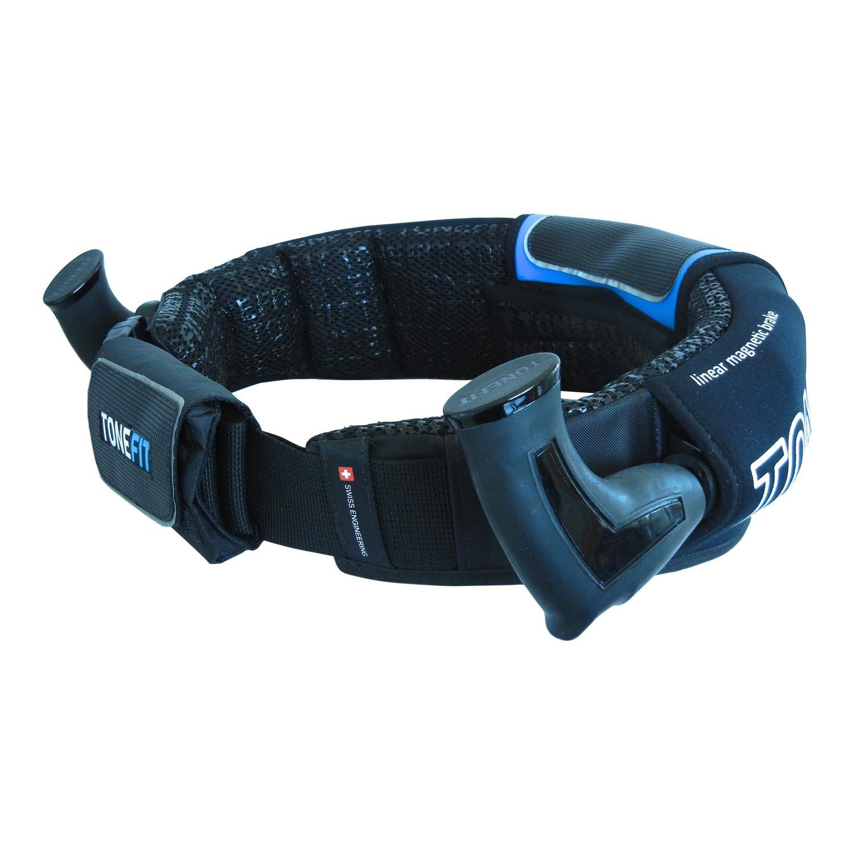 Bekannt aus Die H/öhle der L/öwen G/ürtel f/ür Walking und Jogging auf h/öchstem Niveau Die smarte Erfindung im Laufsport FlexPoint Set mit Tragetasche und Booklet R/ückentipps ABC Tonefit Belt