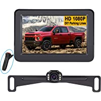 LeeKooLuu LK3 HD 1080P Backup Camera with Monitor Kit OEM Driving Hitch Rear/Front View… photo