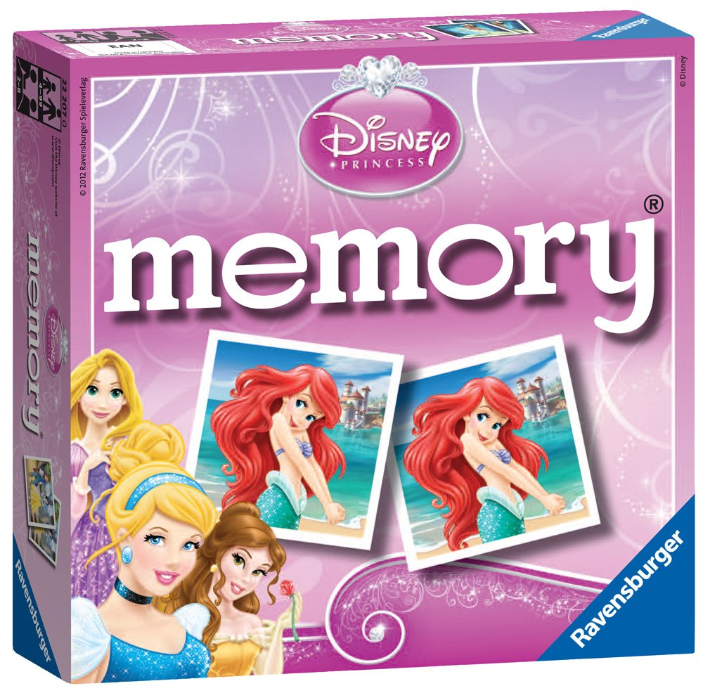 Uncategorized Princess Memory Game ravensburger disney princess mini memory amazon co uk toys games