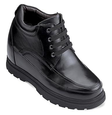 Amazon Com Calden Height Increasing Elevator Shoes For Men Black