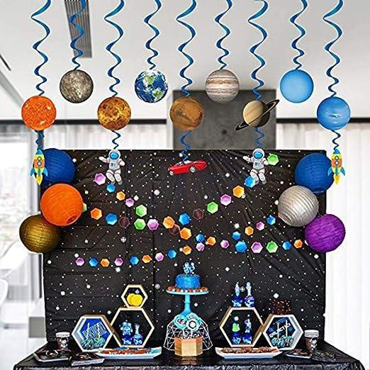 hgjhgkljhk Sistema Solar Remolinos Colgantes Decoraciones ...