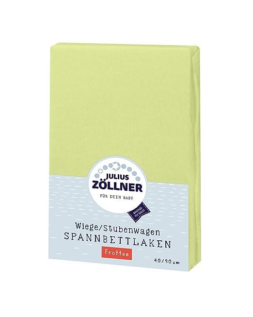 Zöllner Spannbetttuch Frottee 90x40 blau 3er Pack NEU