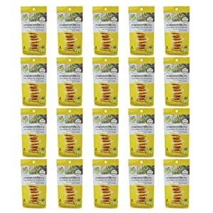20 Packs of Crispy Banana with Tamarind Jam, Delicious Snack From Tamarind House Brand, GMP Certified. (40 G/ Pack)