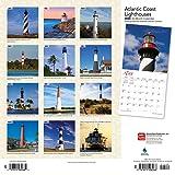 Atlantic Coast Lighthouses 2020 12 x 12 Inch