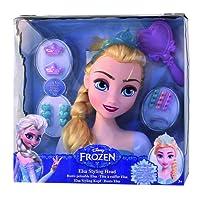 IMC Toys - Tête à coiffer Elsa  - 16149 - Disney
