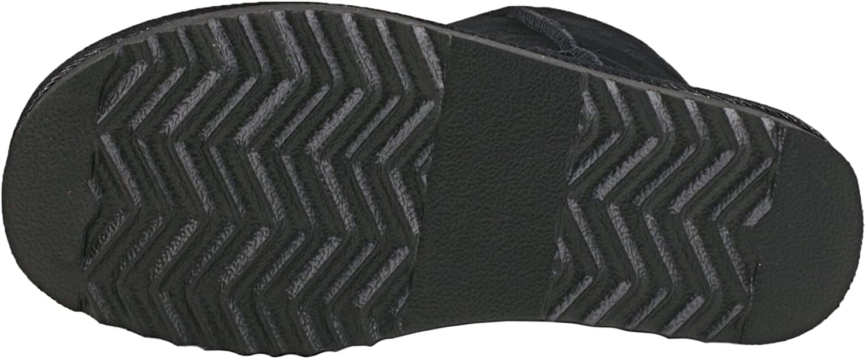 Daim Shenduo Bottes Femme Hiver Cuir Boots fourr/ées Waterproof Mi-Mollet Doublure Chaude D5125 imperm/éable