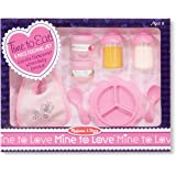 Melissa & Doug 14888 Mine to Love Time to Eat Doll Accessories Feeding Set - 8 Pieces