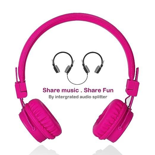 f14415b888 Opinioni per Cuffie per bambini a filo con Microfono Volume