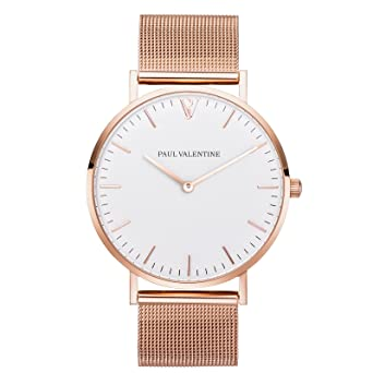 Damen armbanduhr rose gold