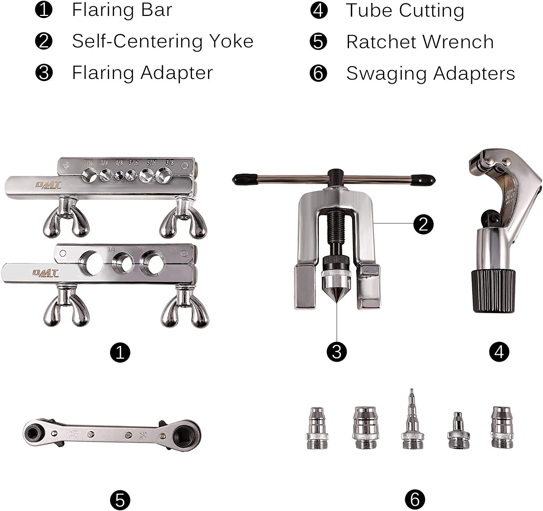 "Free Worldwide Shipping USA 1//4/"" /& 5//16/"" Tube Beading Tool With Holding Tool"