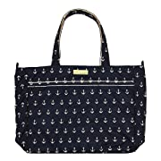 JuJuBe Super Be Large Everyday Lightweight Zippered Tote Bag, Legacy Nautical Collection - The Admiral