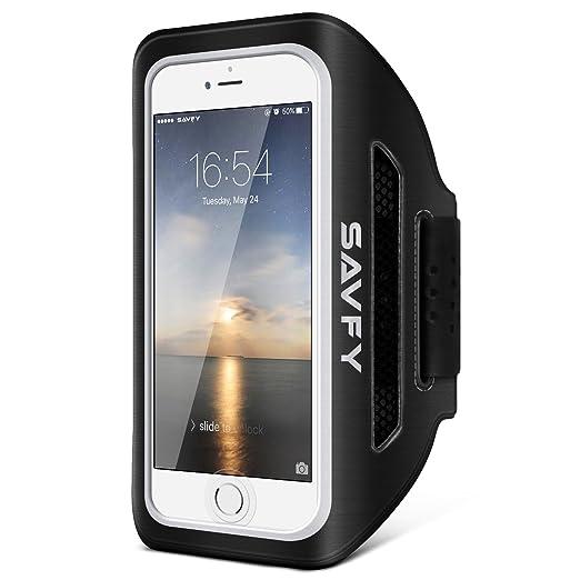 23 opinioni per SAVFY iPhone 7 4.7'' Fascia da Braccio Sportiva, Cinturino Regolabile con