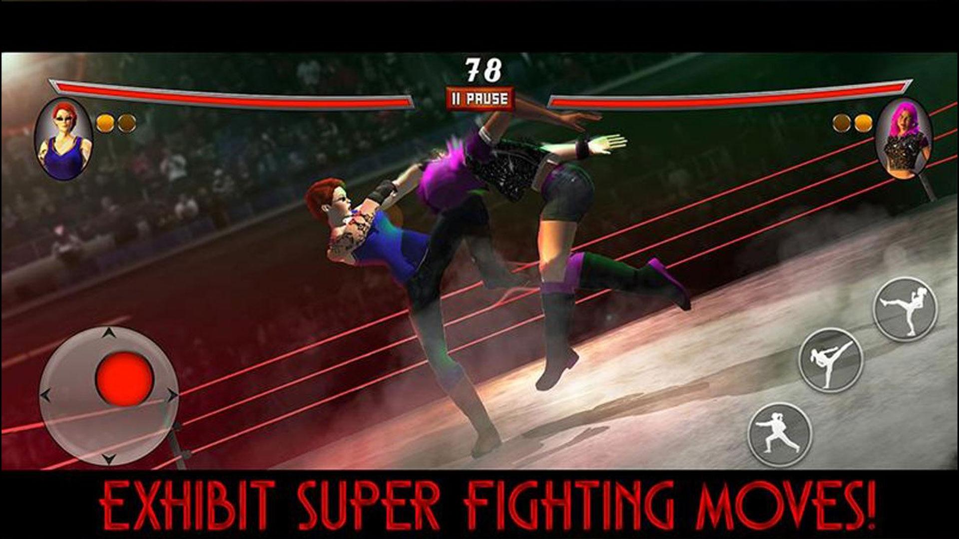 Ring wrestling women fighter battle: Amazon.es: Appstore ...