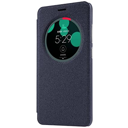pretty nice d74bc ea6b3 CarryWrap Faux Leather Type flip Cover for Asus Zenfone 3 Laser (Black)